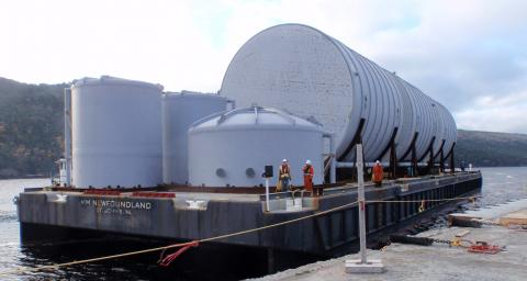 Long Harbour Processing Plant Project - McKeil Marine