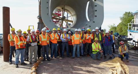 RER Hydro - Water Turbine Installation - McKeil Marine