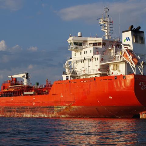 McKeil Marine's tanker, Atlantic Spirit.