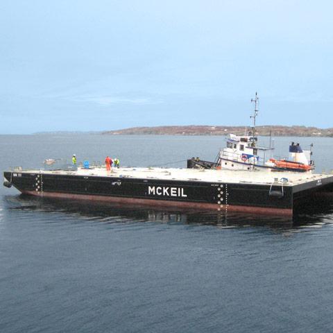 Image of new MM 111 Barge Mckeil Marine
