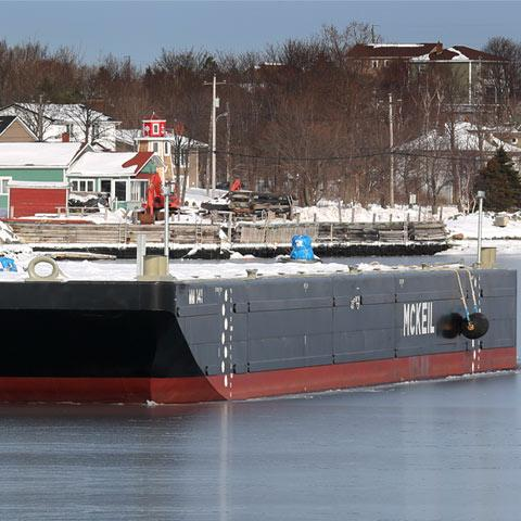 Image of MM 141 Barge in Mckeil Marine's Project Fleet.
