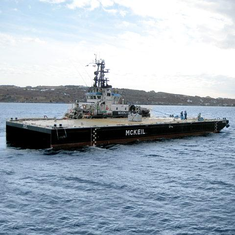 Image of new MM 143 Barge Mckeil Marine