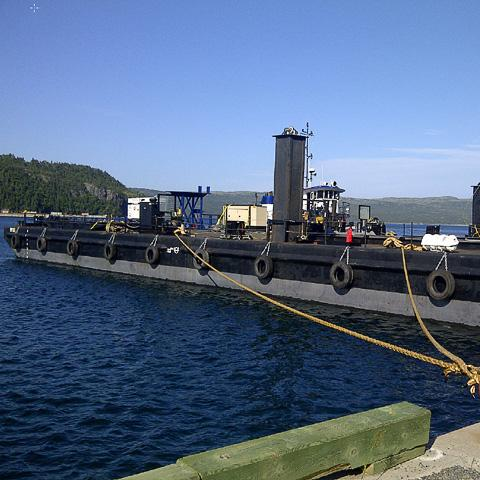 McKeil's m161 project fleet barge
