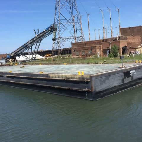 McKeil's barge, MM 182.