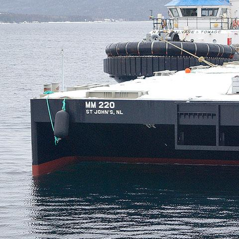 Image of McKeil Marine's barge, MM 220