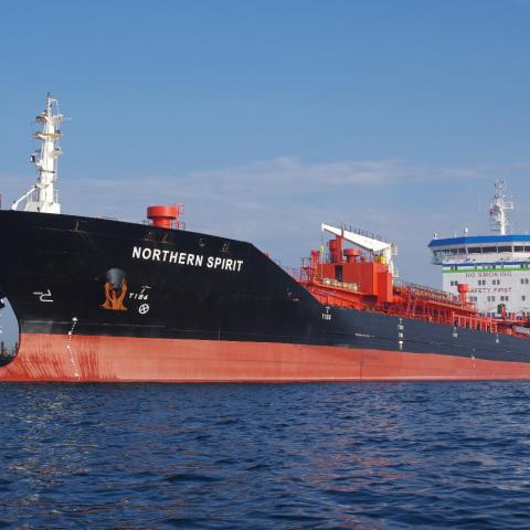 The Northern Spirit is a modern, oil/chemical tanker own by McKeil Marine.