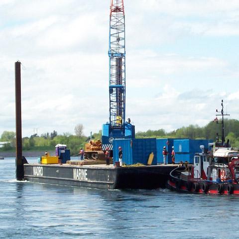 Image of S/VM86 Barge Mckeil Marine