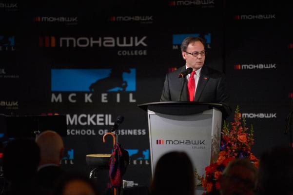 Ron McKerlie, President, Mohawk College