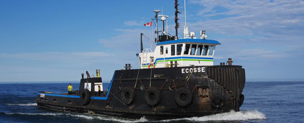 Image of Ecosse, a tug in McKeil Marine's Project Fleet.