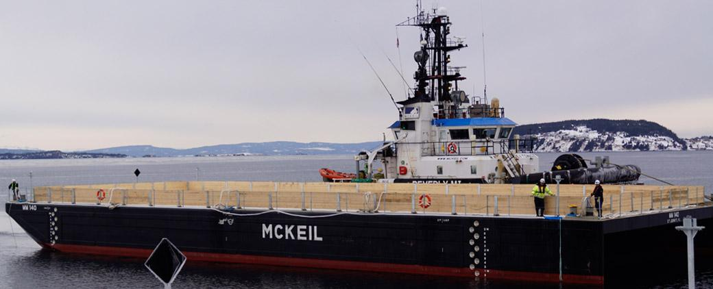 Image of new MM 140 Barge Mckeil Marine