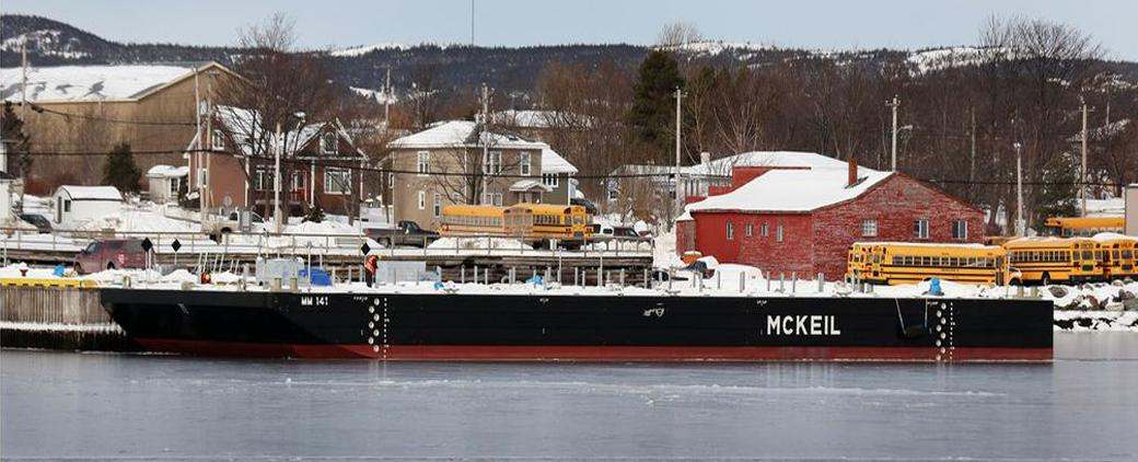 Image of new MM 141 Barge Mckeil Marine