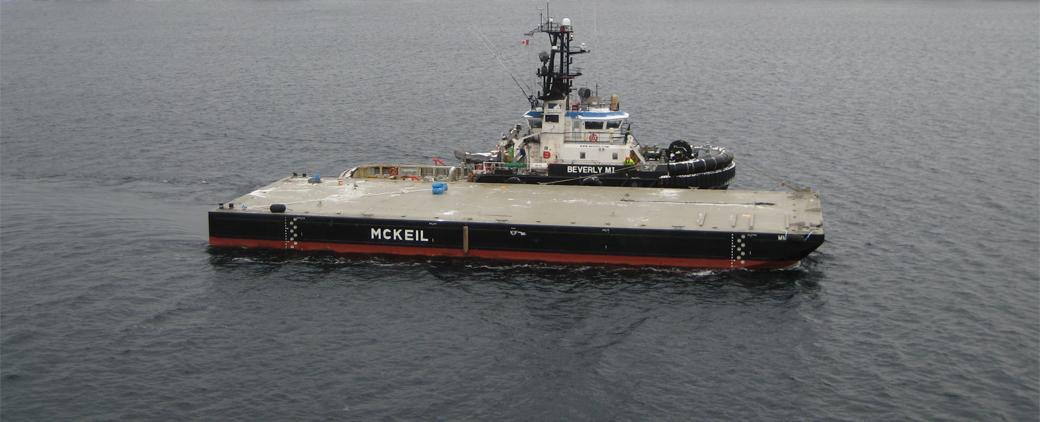 Image of new MM 142 Barge Mckeil Marine