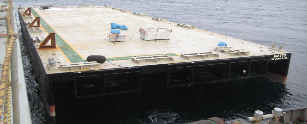 Image of new MM 170 Barge Mckeil Marine