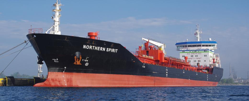 Northern Spirit tanker.