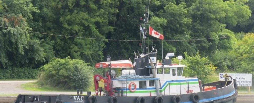 The Vac, a tug owned by McKeil Marine.