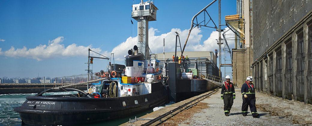 Image of Wilf Seymour Transportation Fleet Tug Mckeil Marine