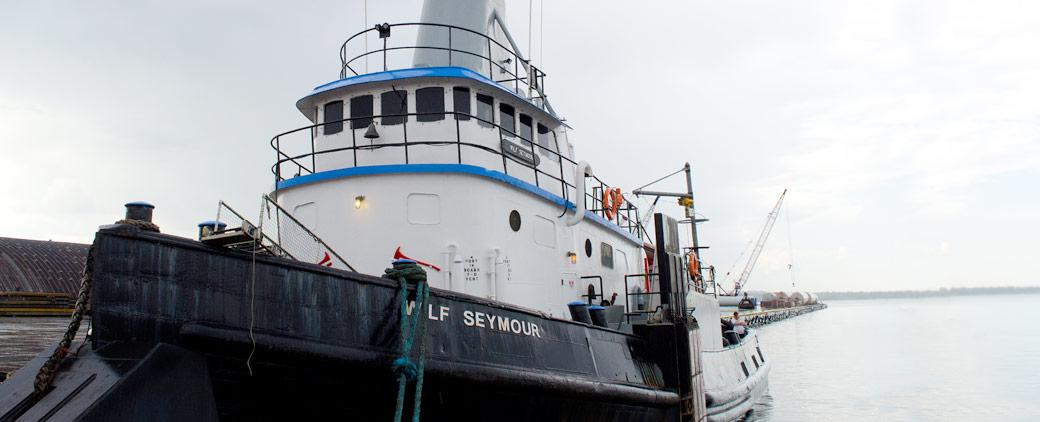 Image of Wilf Seymour Transportation Fleet Tug Mckeil Marine